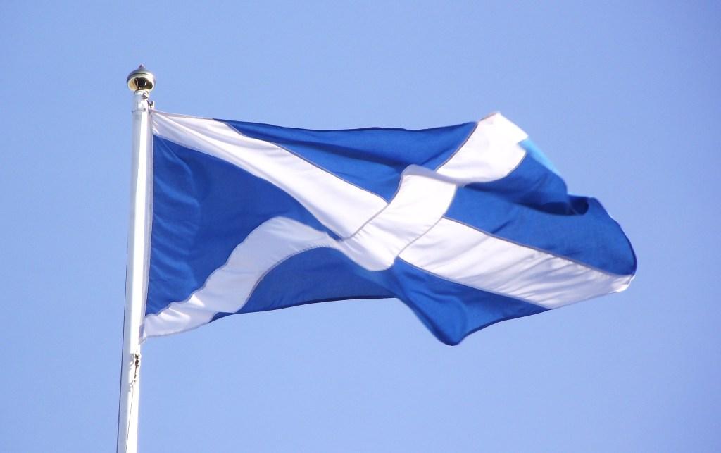 På din rejse til Skotland, skal vil du oftere se det skotske flag end det britisk Union Jack.