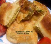 Mughlai paratha/egg paratha