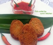 Fish cutlet(macher kabab)