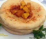 Soft butter naan