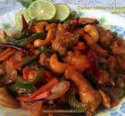 Chicken cashew nut salad