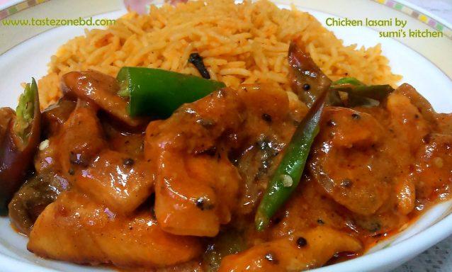 Chicken lasani