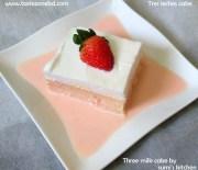 Three milk(tres leches cake) cake