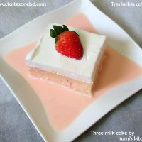 Three milk(tres leches cake) cake