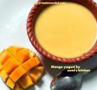 mango yogurt (aam doi)
