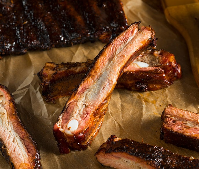 smoked st louis style ribs recipe