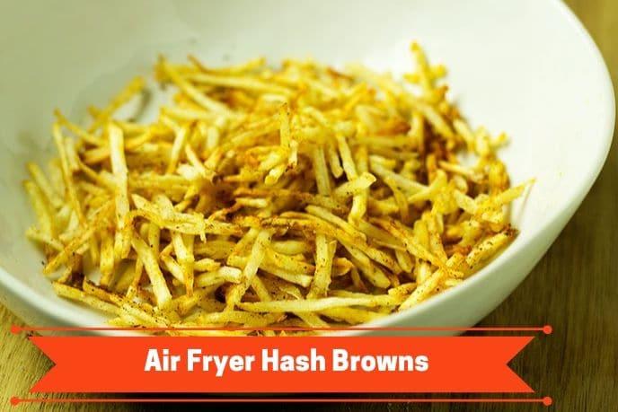 air fryer hash browns