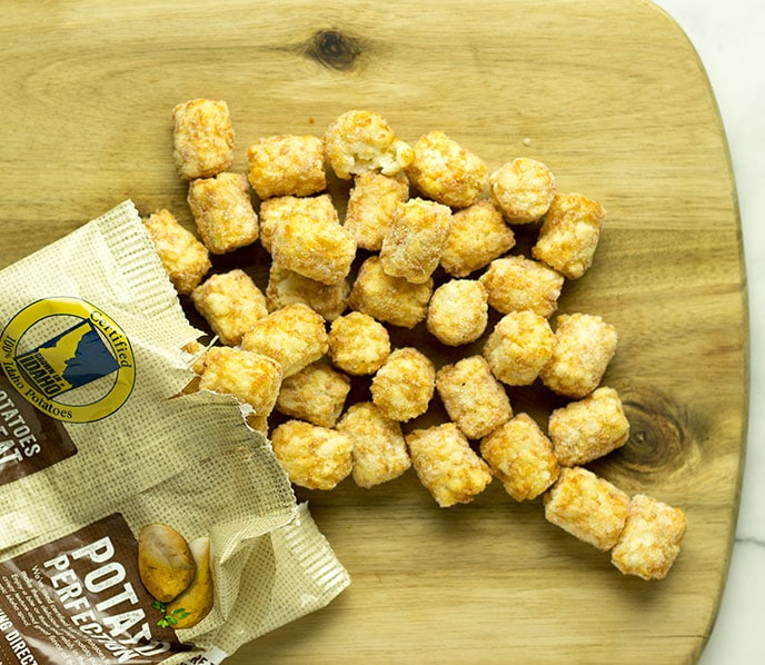 how to air fry tater tots