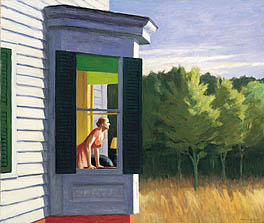 Edward Hopper, Cape Cod Morning. Image Courtesy Smithsonian American Art Museum