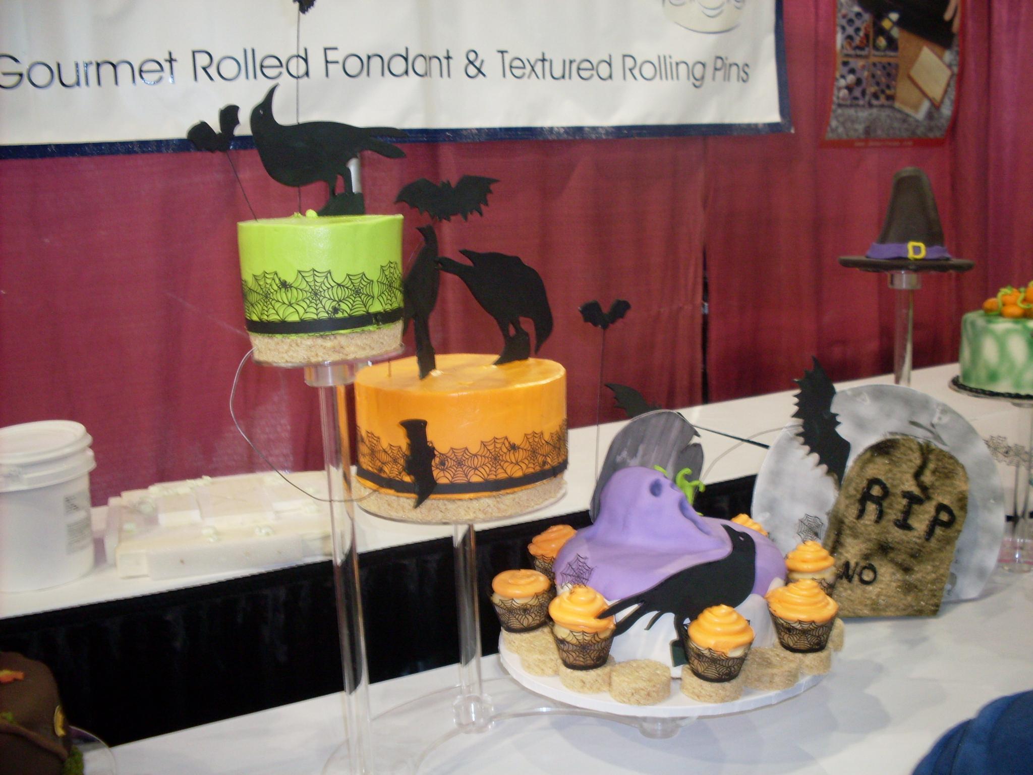 Halloween Horror Cake Competition winner