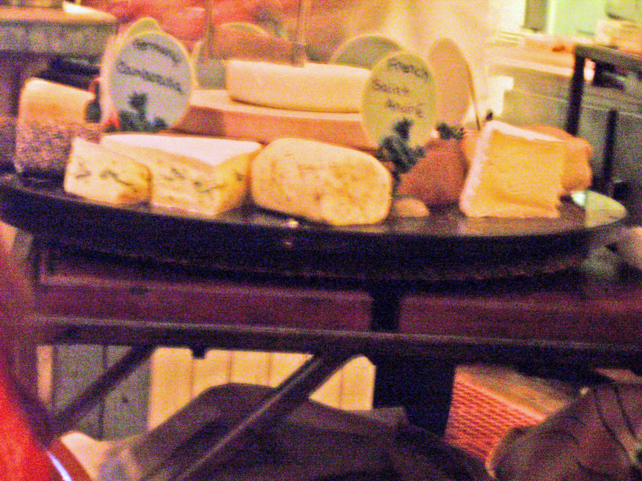 Rise's cheese cart