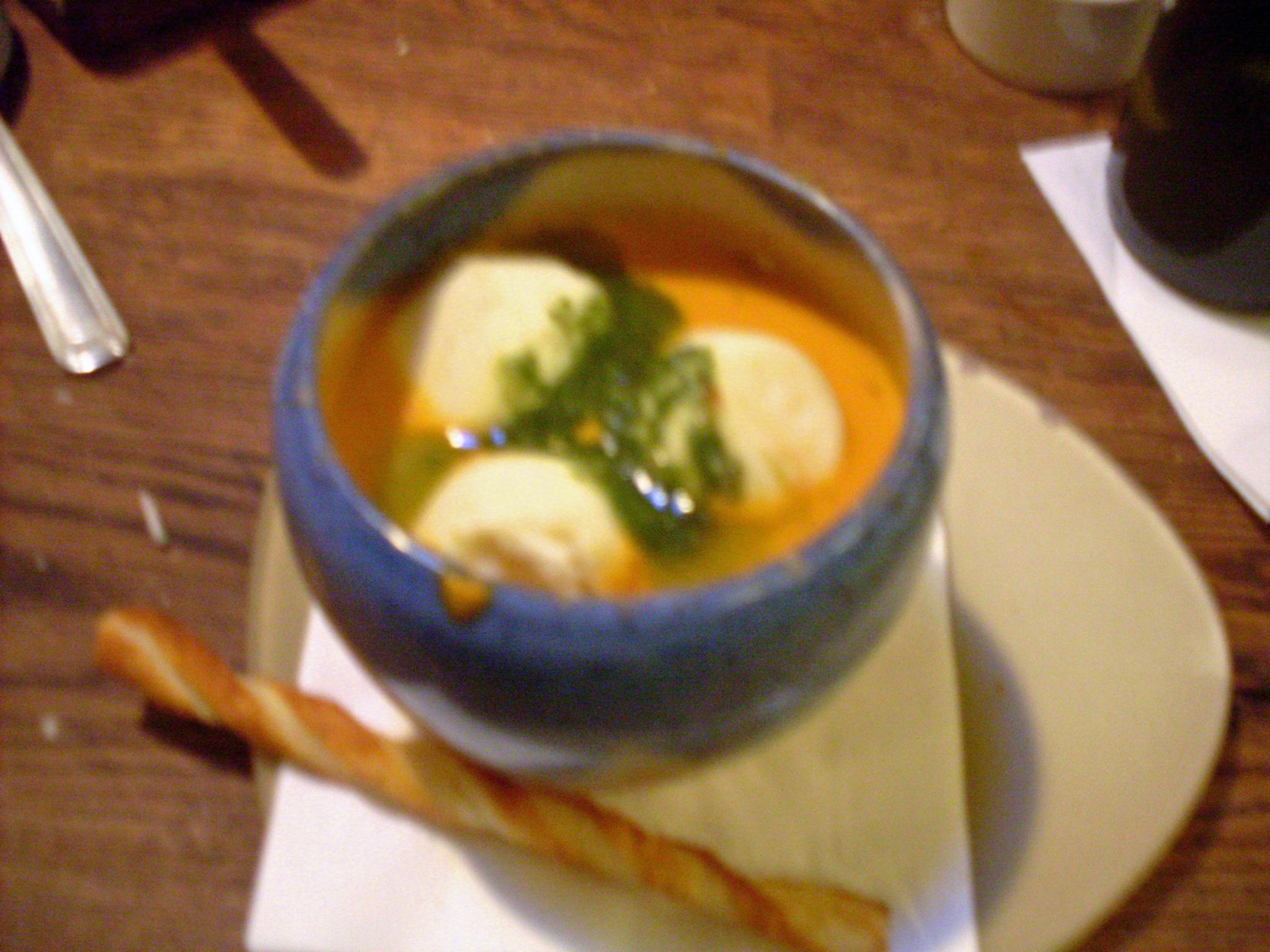 """Marshmallow"" soup"
