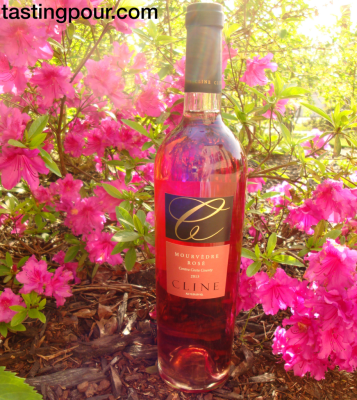 Cline Cellars Mourvedre Rose with Azaleas