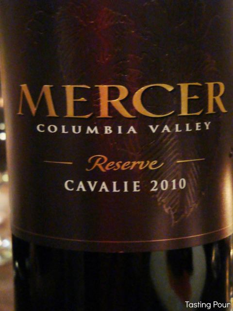 Mercer Estates Winery Reserve Cavalie 2010 Bordeaux Blend