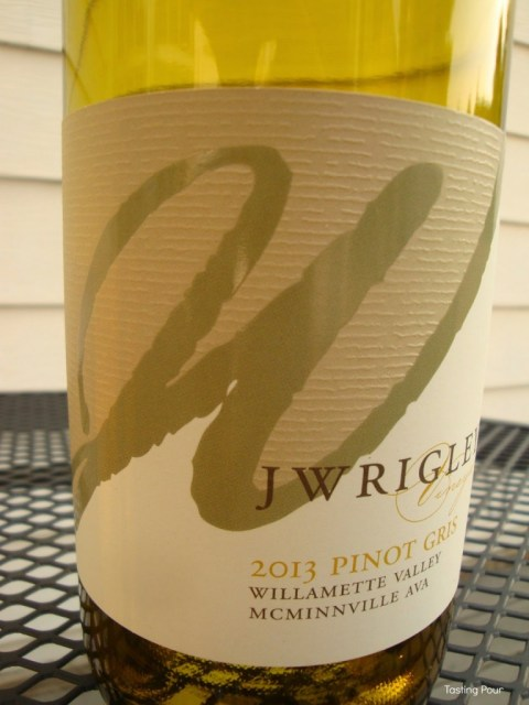 J Wrigley 2013 Pinot Gris Willamette Valley McMinnville Oregon