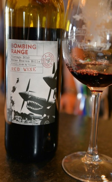 Bombing Range Red wine from McKinley Springs Winery
