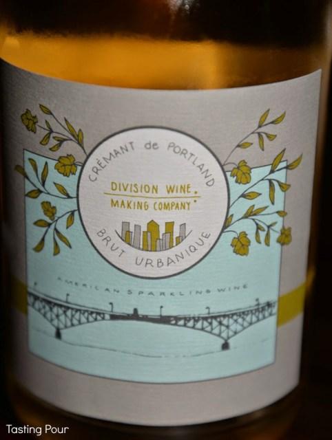 Cremant de Portland Oregon sparkling wine by Division Wine Company