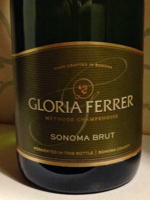 Bottle Shot of Gloria Ferrer Sonoma Brut Sparkling Wine
