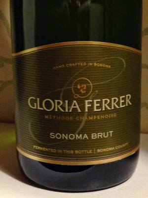 Bottle Shot of Gloria Ferrer Sonoma Brut Sparkling Wine