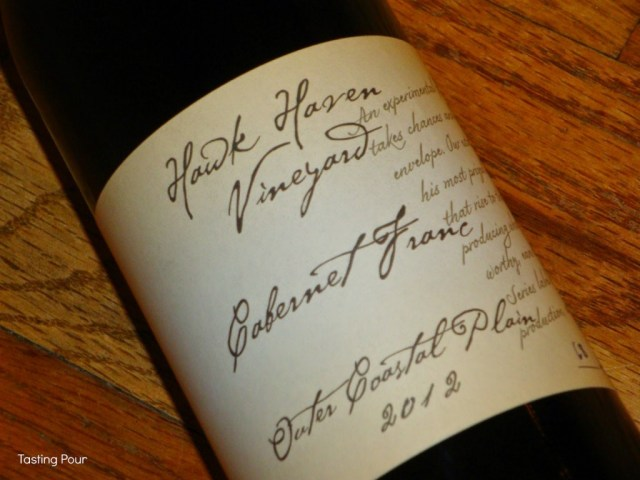 2012 Hawk Haven Cabernet Franc