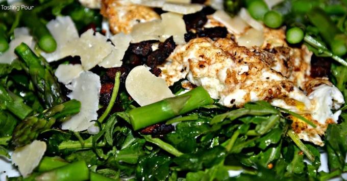 Truffled Asparagus Salad