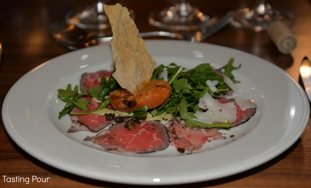 Griffin Marinated Smoked Beef Carpaccio