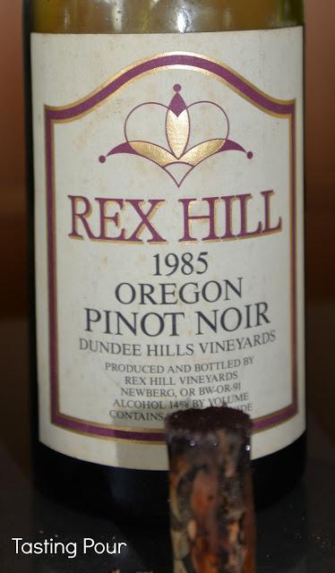 Rex Hill 1985 Pinot Noir Dundee Hills Oregon