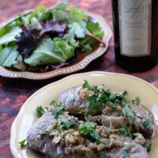 Steak Diane & Bell Cab Sauvignon #winepw