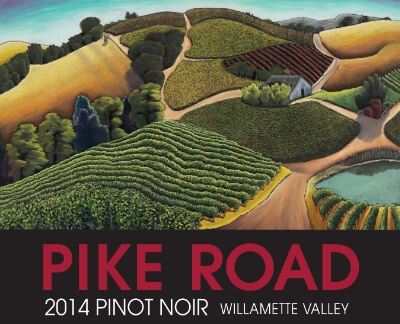 2014 PIke Road Pinot Noir