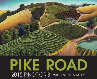 2015 Pike Road Pinot Gris