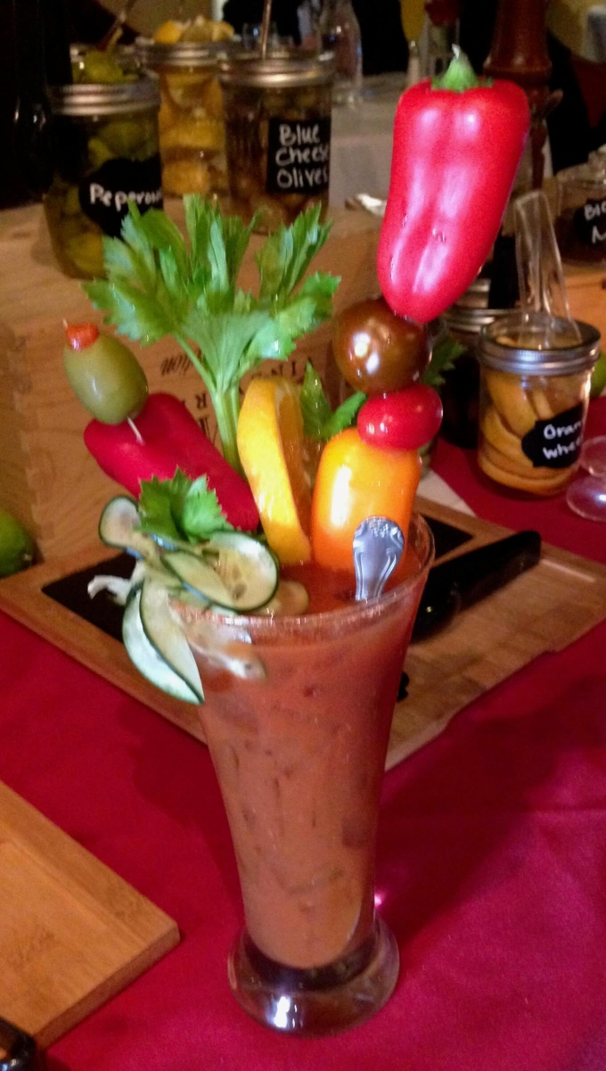 Bloody Mary Bar Carousel Restaurant and Bistro