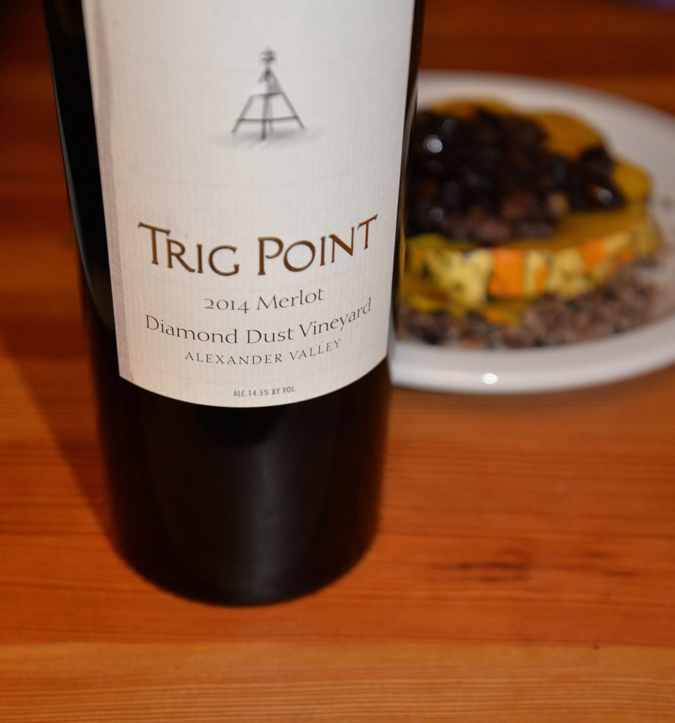 Trig Point 2014 Merlot