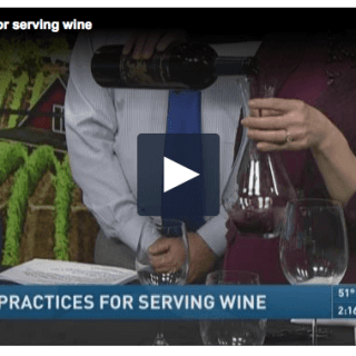 Best Practices for Serving Wine
