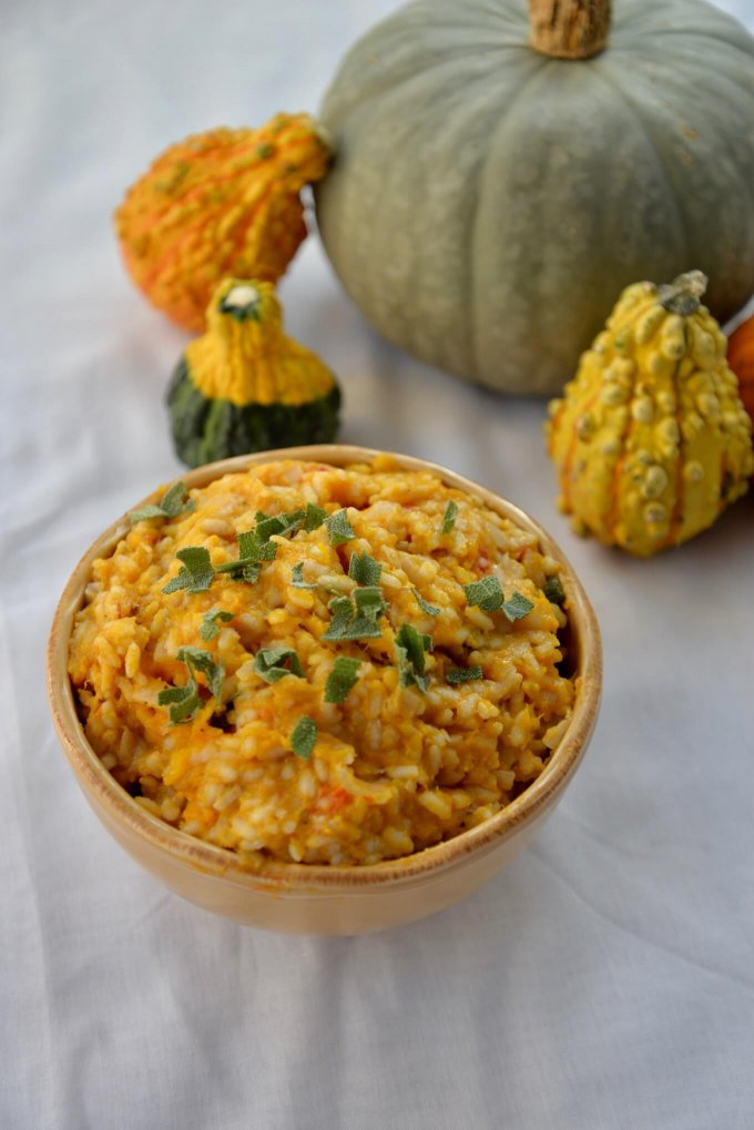 Roasted Winter Squash Risotto