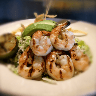 Prawn and Avocado Salad Cowiche Canyon Yakima Restaurant