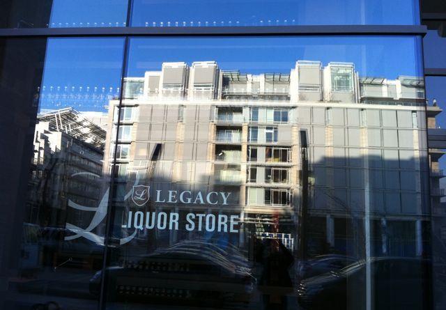 Legacy Liquor Store by Mari Kane, www.tastingroomconfidential.com