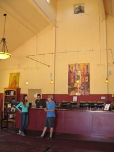 Amista tasting room. By Mari Kane, www.tastingroomconfidential.com