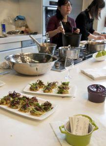 portly chef, chardonnay kitchen party, tastingroomconfidential.com/a-chardonnay-kitchen-party