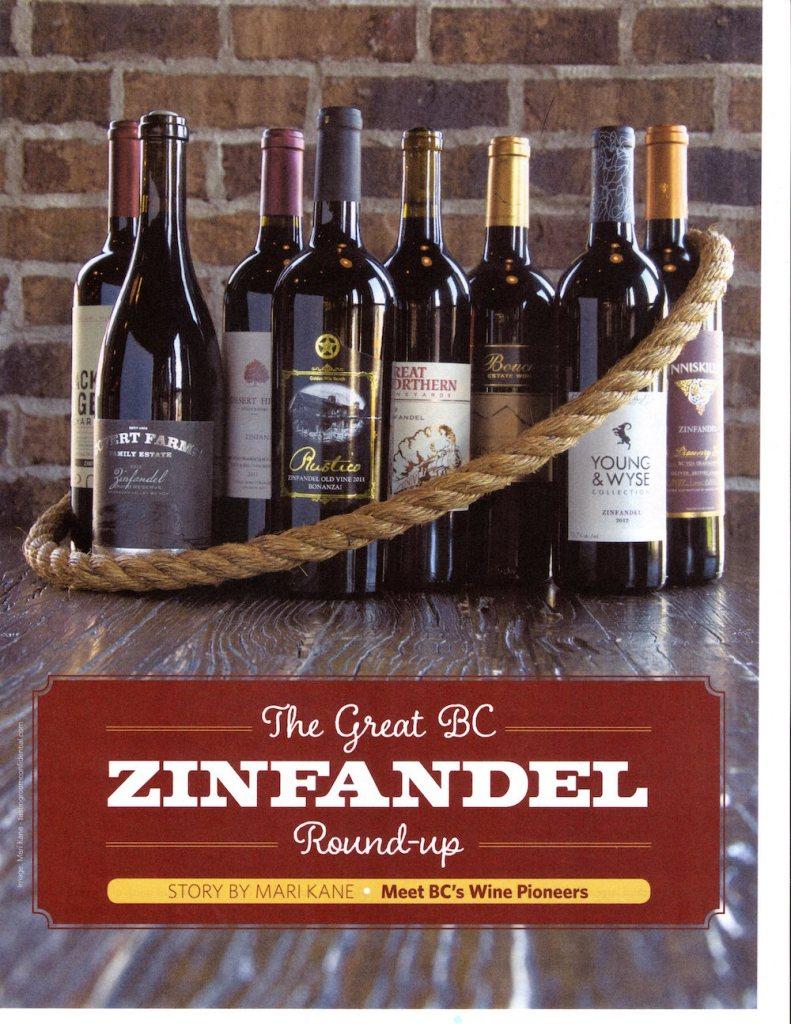 BC Zinfandel Roundup