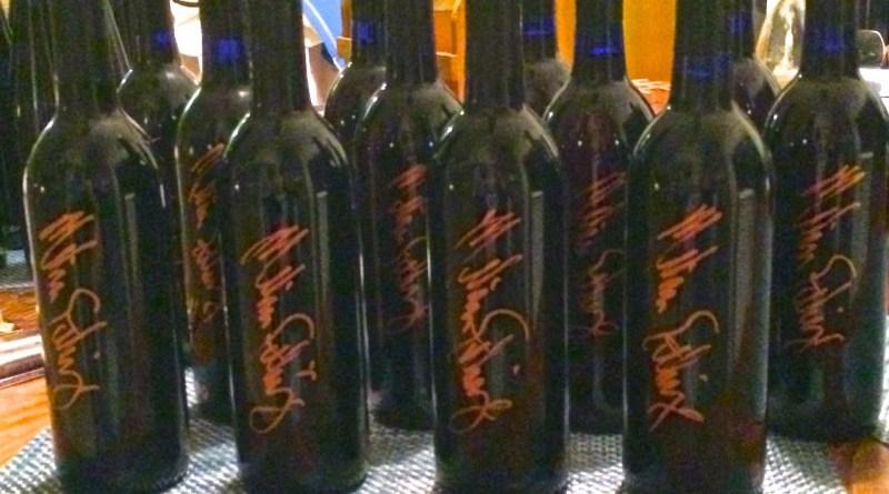 weed wine bottles