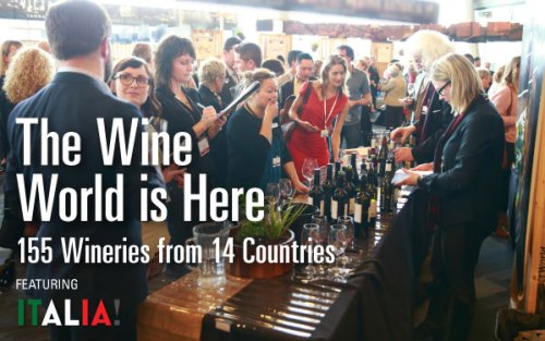 38th Vancouver Wine festival featuring Italy