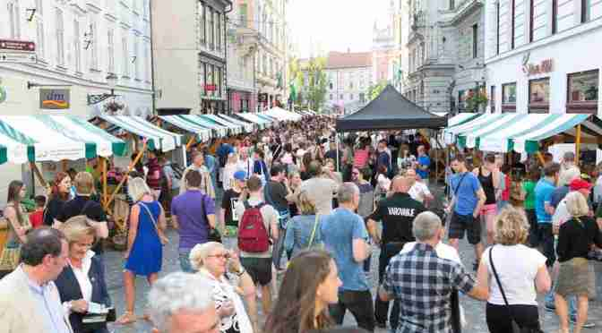 Ljubljana Wine Route – Summer wine spoils – Ljubljana, Central Slovenia