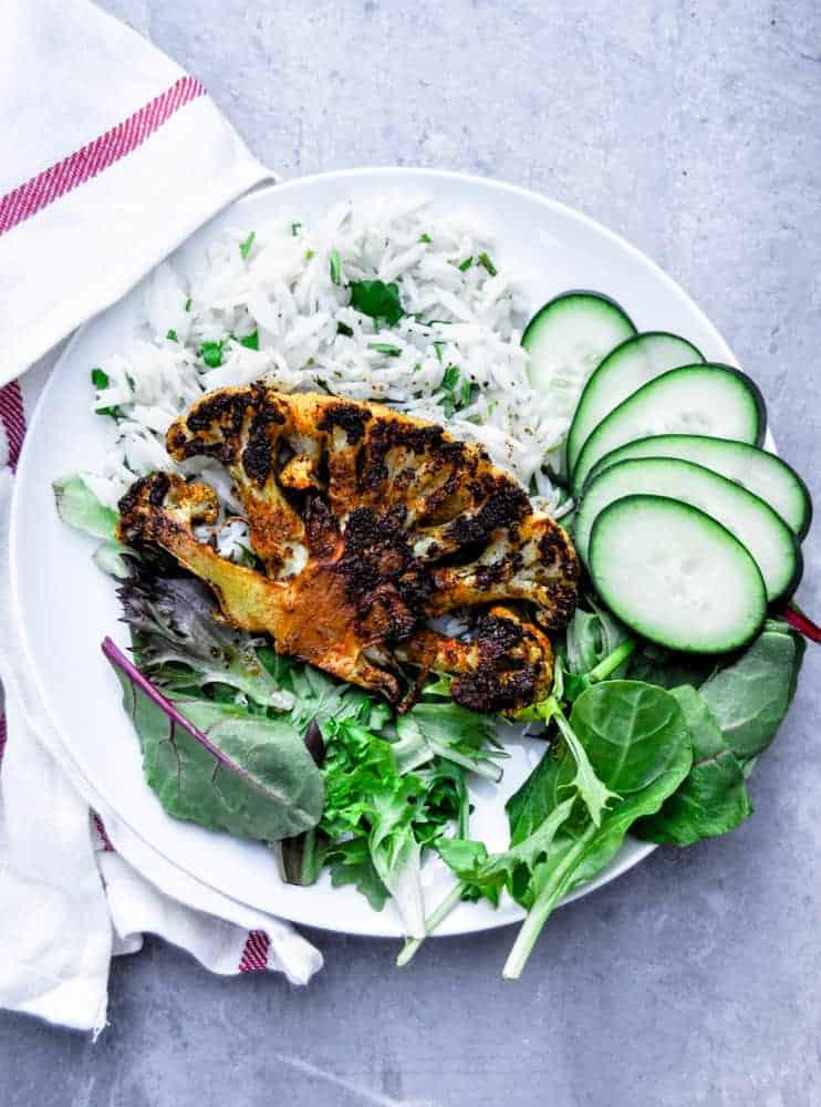Vegan Cauliflower Steaks