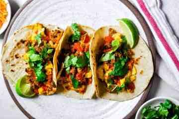 Southwest Breakfast Tacos