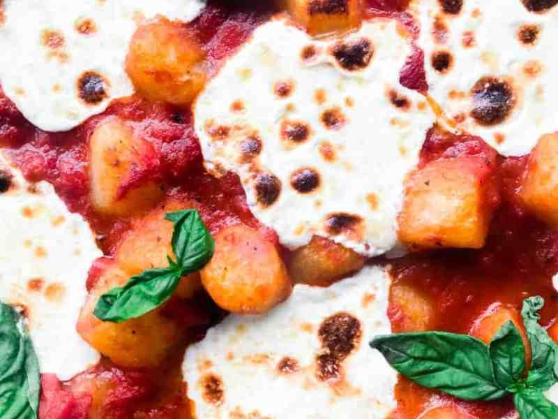 Cheesy Cauliflower Gnocchi