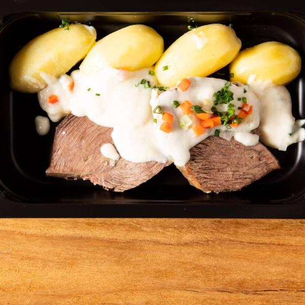 Tafelspitz mit Kartoffeln