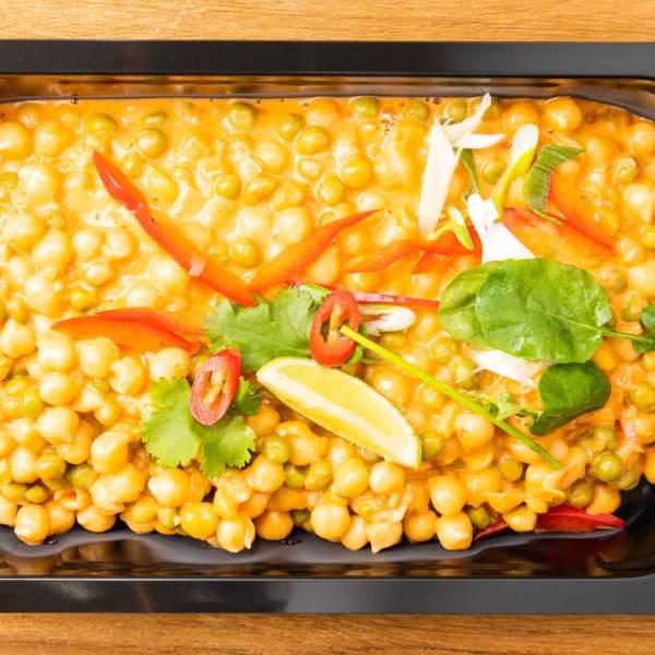 Veggietarisches Curry Dagobert