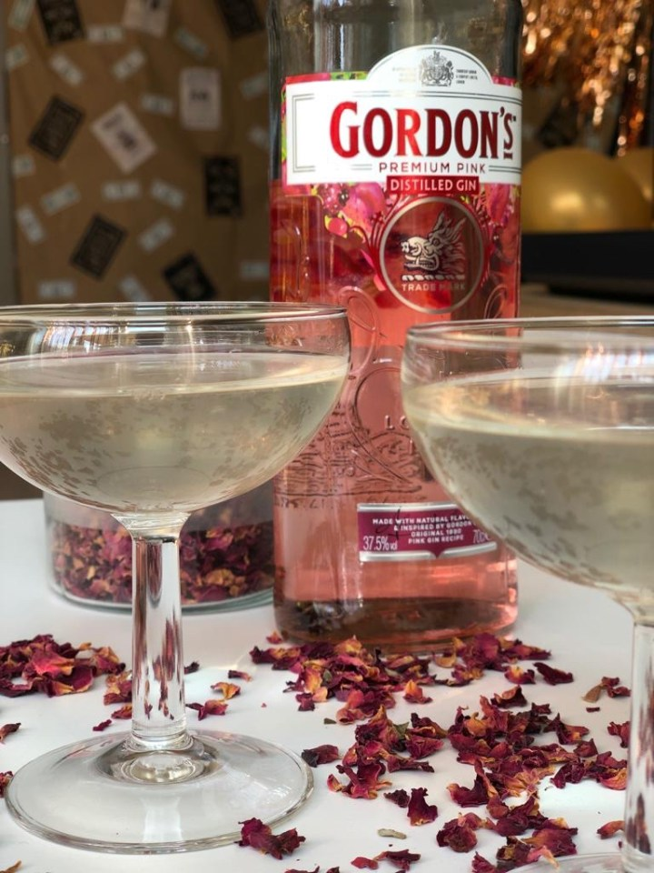 Giggle Rose Gin Cocktail