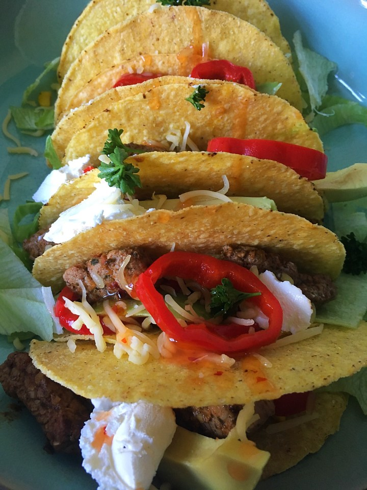 Taco's met biefstuk
