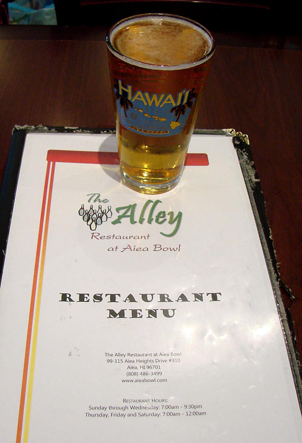 The Alley Restaurant at Aiea Bowl – Tasty Island